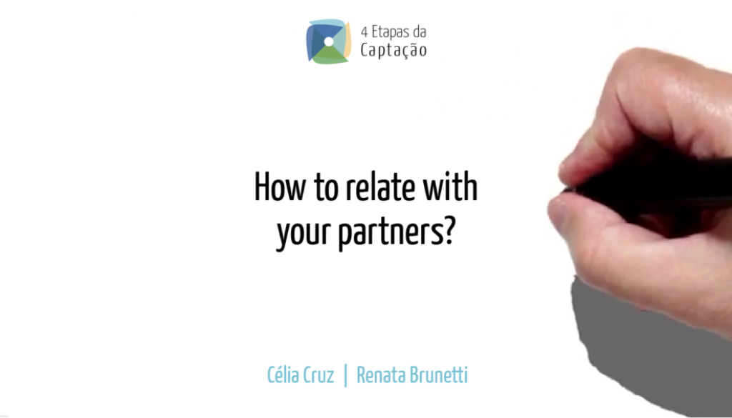 __How to relate with your partners