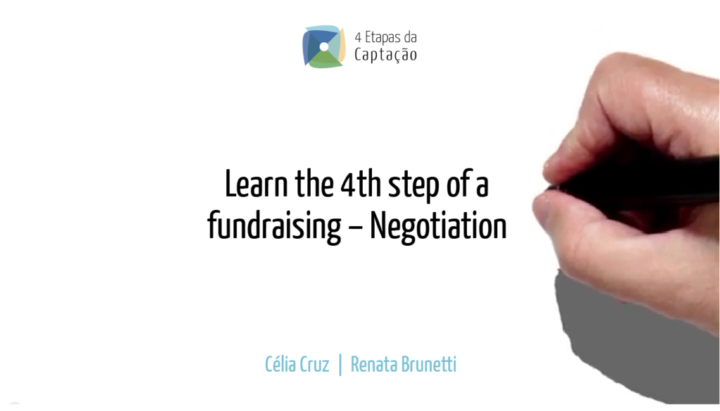 __Learn the 4th step of a fundraising – Negotiation