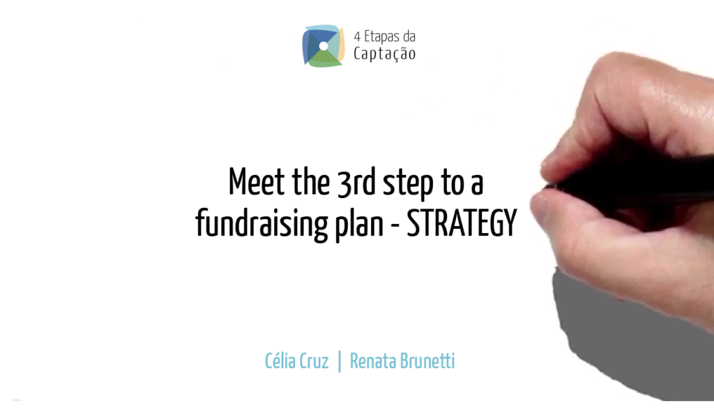 __Meet the 3rd step to a fundraising plan - STRATEGY