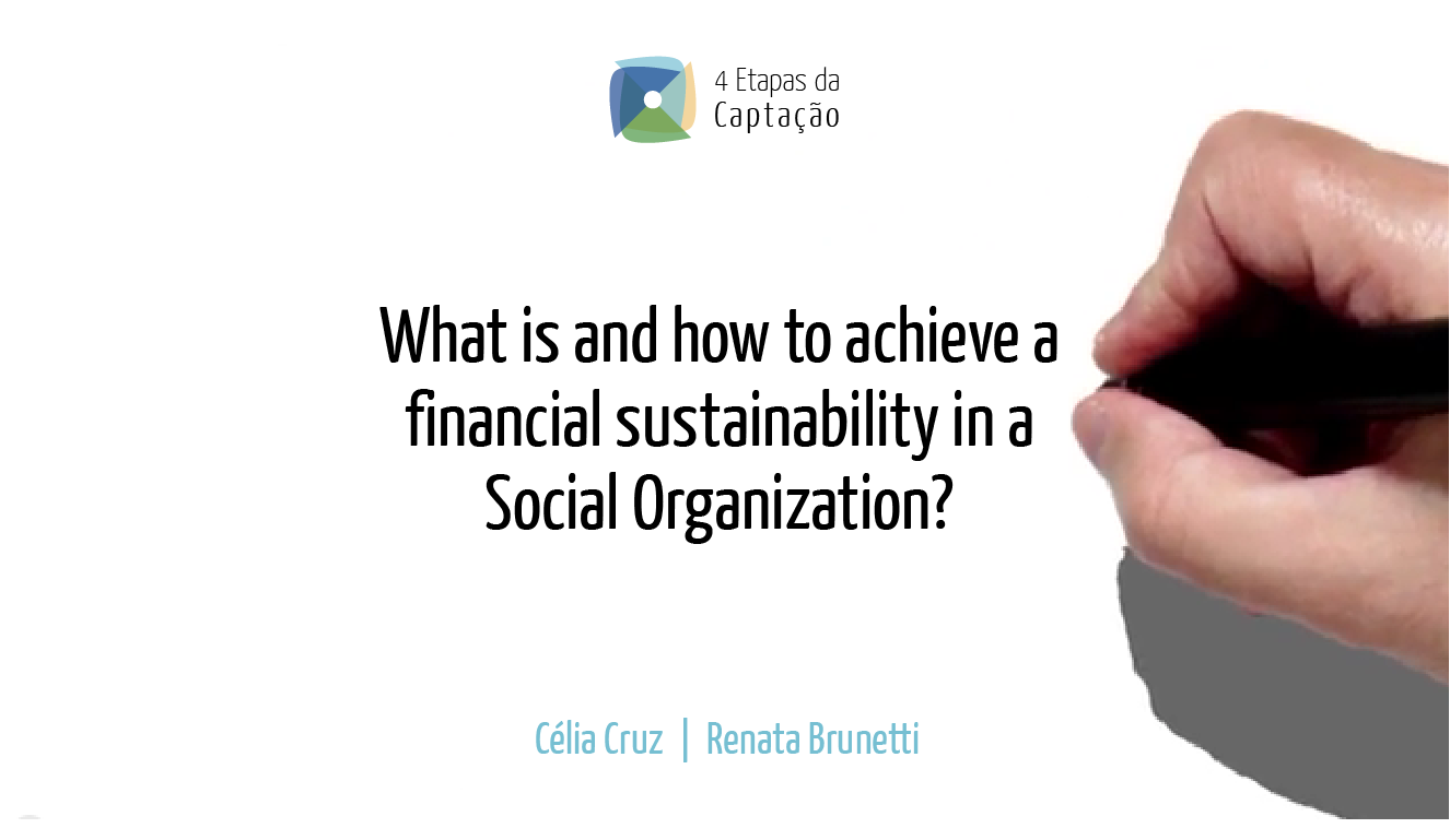 __What is and how to achieve a financial sustainability in a Social Organization